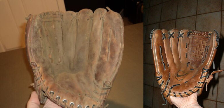 How to oil an Old Baseball Glove?